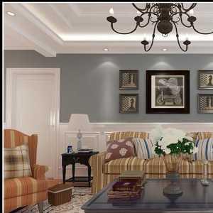 田园白领三居室富裕型精装房120-150平米