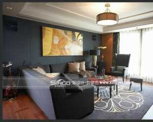 別墅樣板房室內設計裝修效果圖