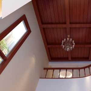 悠闲简美式旧房改造装修效果图