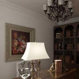 书房书架富裕型复式装修效果图