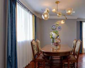 瑞豐花園混搭客廳設計裝修效果圖