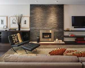 美式古典四居室書房沙發裝修效果圖