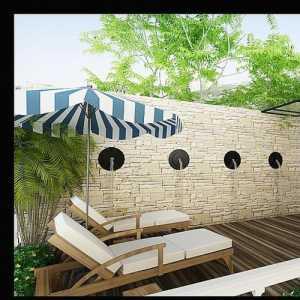 75平最新地中海風情餐廳高飄窗燈飾裝修效果圖