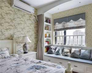 卧室三室一厅田园公寓飘窗