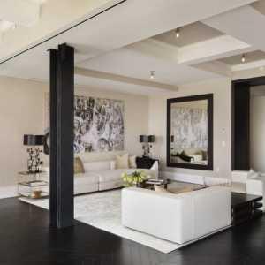 客厅吊顶壁布装修效果图