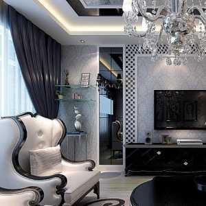 别墅中式客厅双拼别墅装修效果图