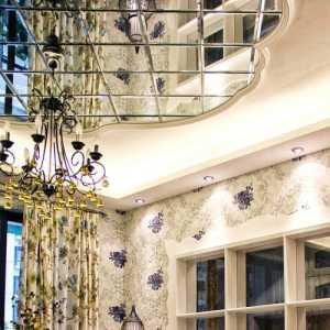 沙发背景墙照片墙书柜大户型单身公寓复式楼60平米简欧风格书房吊顶装修效果图复式楼60平米简欧风格书桌图片