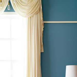 混搭風格三居室臥室背景墻裝修圖片,混搭風格窗簾圖片