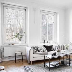 110平混搭现代3室一厅装修效果图