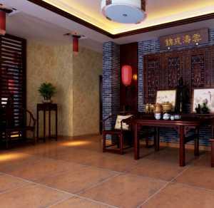奢华时尚的中式客厅装修