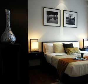 臥室床頭背景墻壁紙裝修效果圖