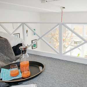36平方米简约风一居室公寓 空间虽小收纳性强