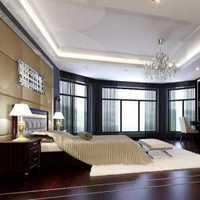 臥室新中式別墅裝修效果圖
