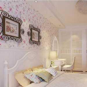 現代簡約二居室臥室電視柜裝修效果圖欣賞