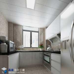 小复式装修效果简洁70平米两室一厅3平米厨房设计图纸