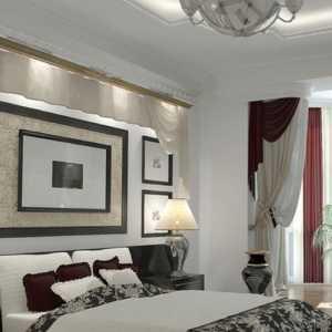 现代风格装修效果图卧室能配胡桃色的门吗