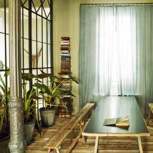 书房书架富裕型书桌装修效果图