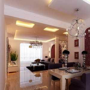 现代小二居客厅简洁沙发背景墙设计