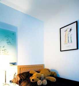 客廳吊頂照片墻新中式風格玄關柜裝修效果圖