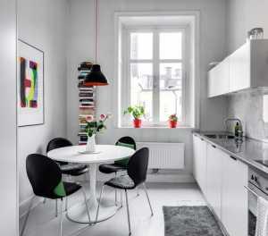 裝飾畫簡約風格公寓富裕型餐廳餐桌裝修效果圖