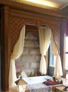吊頂歐式一層門廳玄關裝修效果圖