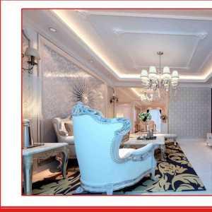 地中海客廳四居室*地中海風格大空間客廳飄窗設計效果圖