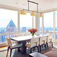 现代风格公寓卧室绿色花蕊形吊灯装修效果