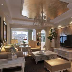 歐式風格別墅15-20萬臥室床圖片