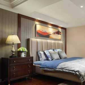地中海风格三居室卧室隔断装修效果图欣赏