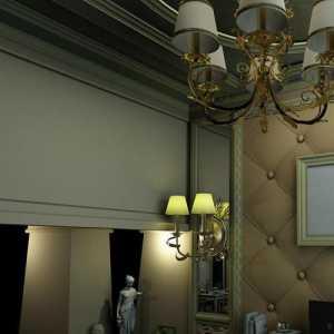 简约大气的别墅客厅装修