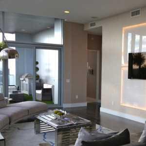 瓷磚客廳過道玄關地面拼花裝修效果圖