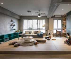 創意家居家居收納窗簾單身公寓宜家一室一廳客廳吊頂裝修圖片單身公寓宜家一室一廳茶幾圖片裝修效果圖