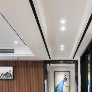 疏影——138㎡清新淡雅新中式二居设计