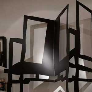 吊燈大廳吊頂新中式風格酒店大堂裝修效果圖