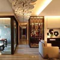 紅色餐廳三室一廳簡約歐式風格設計