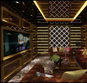 二居室TT精工地中海风格小户型小清新经济型70平米客厅照片墙沙发婚房设计图纸效果图