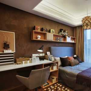 现代简约风格一居卧室装修效果图