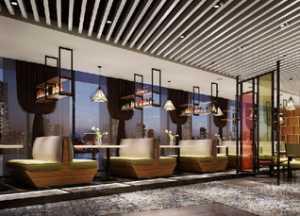 北海银河投资集团展厅设计效果图大全