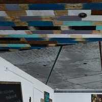 餐廳背景墻餐廳吊頂餐廳裝修實景效果圖