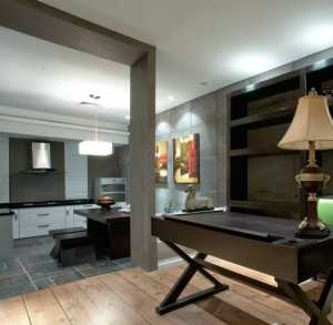 宜家90平米书房二居室装修效果图