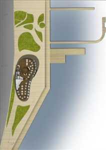 筒灯保利中央公馆二居室90㎡装修图片效果图