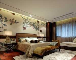 地中海風格四居室客廳飄窗裝修效果圖