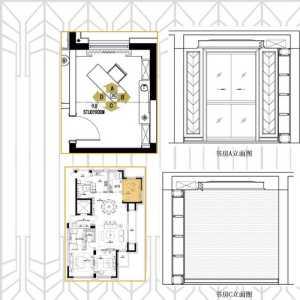 緯圖設計作品—葫蘆島全食餐廳裝修效果圖