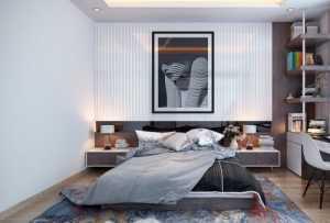 小户型0平米装修二室一厅图