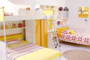 北歐風格公寓經濟型80平米兒童房床裝修效果圖