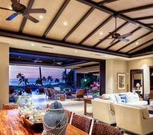 热带海岛风的客厅,把家变成度假村!(中)