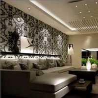古典四居客厅地面装修效果图