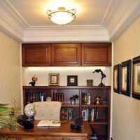 书房懒人沙发书架装修效果图