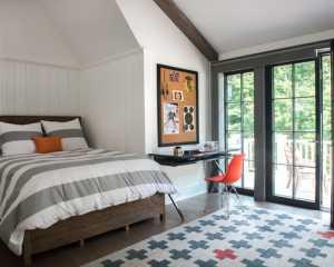 冬天的卧室,来块地毯