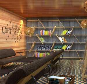 現代別墅白亮型墻面地板黑灰色沙發客廳裝修效果圖